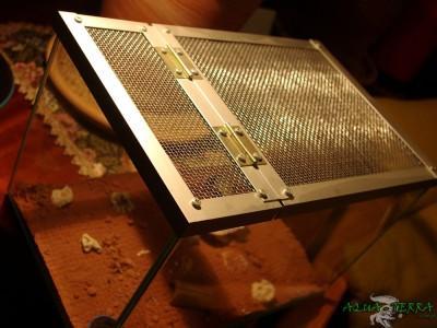 przykrywka do terrarium z siatki 01